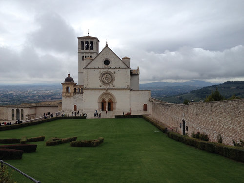 The Basilica of Saint Francis of Assisi