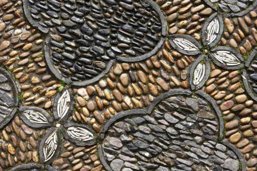 stone inlay floor