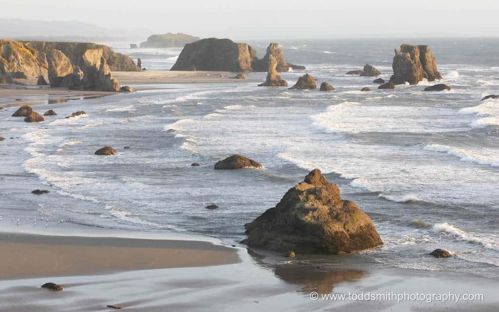 peaceful Oregon Coast