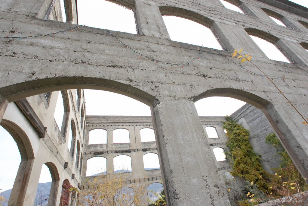 The original builders of this abandoned cement structure might have benefited from some project stress management.
