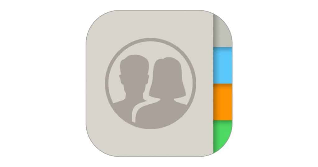 contacts app icon